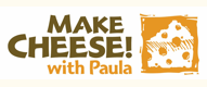 make cheese with paula logo