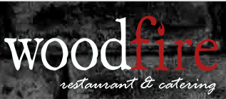 woodfire restaurant @amp; catering logo
